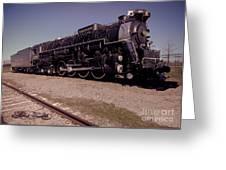 Train Engine #2732 Greeting Card