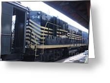 Trains Greeting Card