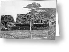 Transcontinental Railroad Greeting Card