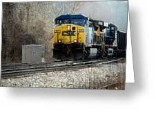Transportation Greeting Card