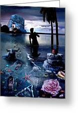 Treasure Island Greeting Card