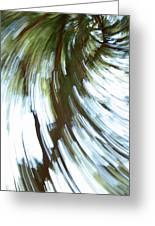 Tree Diptych 2 Greeting Card