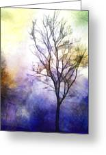 Tree On Vine Greeting Card