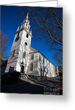 Trinity Church Newport Rhode Island Greeting Card