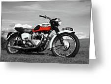 Triumph Bonneville 1959 Greeting Card