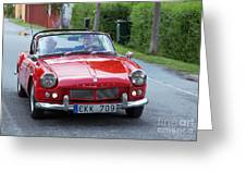 Triumph Spitfire 4 Greeting Card