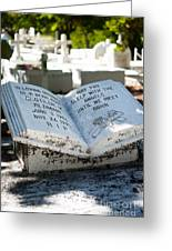 Tropical Cemetery Greeting Card
