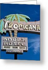 Tropicana Greeting Card