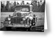 Truck Greeting Card