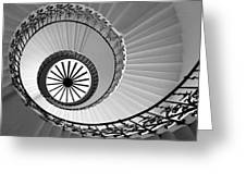 Tulip Staircase Greeting Card by Julian Perry