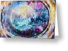 Tunnel To The Moon Greeting Card