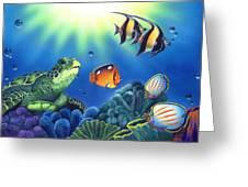 Turtle Dreams Greeting Card