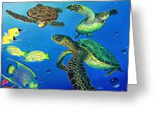 Turtle Towne Greeting Card