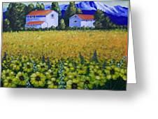 Tuscan Sunflowers Greeting Card