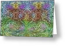 Twin Fairies Greeting Card