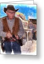 Two Gun Earl Greeting Card