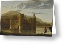 Ubbergen Castle Greeting Card