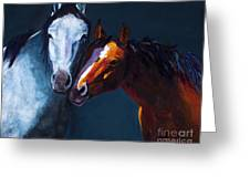 Unbridled Love Greeting Card