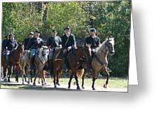 Union Cavalry Greeting Card