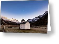 Unstad Chapel Greeting Card