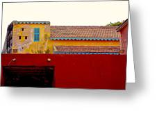 Untitled Building  Greeting Card