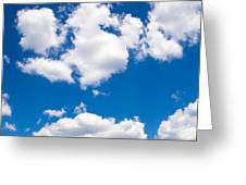 Up In The Sky Greeting Card