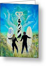Uprising Of Love Hatteras Greeting Card