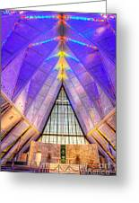 Us Air Force Academy Chapel Greeting Card