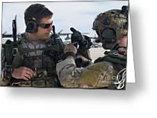 U.s. Air Force Combat Controllers Greeting Card