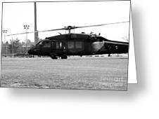 Us Army Blackhawks Greeting Card