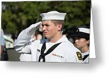 Us Naval Sea Cadet Corps - Gulf Eagle Division, Cape Coral, Florida Greeting Card