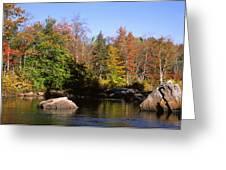 Usa, New York, Adirondack State Park Greeting Card