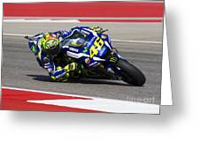 Valentino Rossi Greeting Card