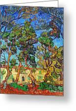 Van Gogh: Hospital, 1889 Greeting Card by Granger