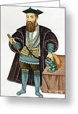 Vasco Da Gama, Portuguese Explorer Greeting Card