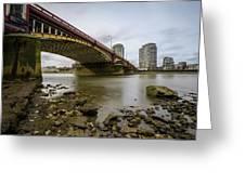Vauxhall Bridge Greeting Card