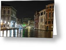 Romantic Venice  Greeting Card