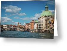 Venice Panorama Greeting Card