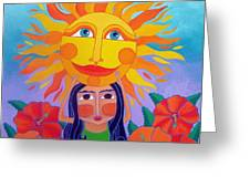 Verano Amor Greeting Card