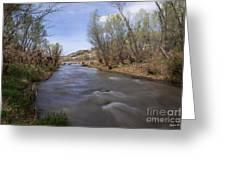 Verde River Greeting Card