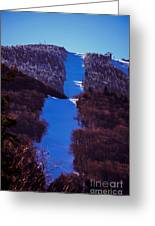 Vermonts Sugarbush Mountain Greeting Card