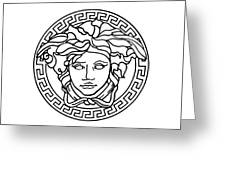Versace Greeting Card