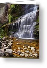 Veu Da Noiva Waterfall Greeting Card
