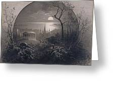 View From Greenwood Cemetery Greeting Card