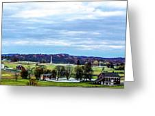 View From Longstreet Tower Greeting Card