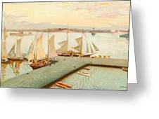 View From Pohjoisranta Greeting Card