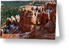 View From Rim Trail Greeting Card