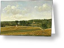 View Of Chatenay Greeting Card