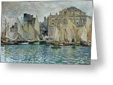 View Of Le Havre Greeting Card