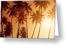 View Of Tahiti Greeting Card